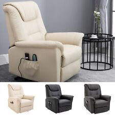 Elektrischer Massage-Liegestuhl mit Vibrierendemassage Heizfunktion Aufstehhilfe