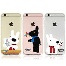 Gaspard & Lisa Clear Jelly Case Galaxy S8 Case Galaxy S8 Plus Case 7 Types Korea