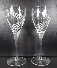 Lenox Windswept Clear Set of 2 Wine Goblets