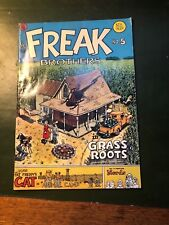 Fabulous Furry Freak Brothers No. 5 Grass Roots 1977 (1988 Reprint)