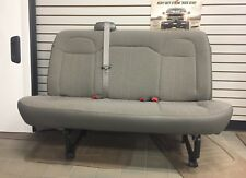 11-16 Chevy Express/GMC Savana Van 2nd 3rd Row 3 Passenger Gray Cloth Bench Seat