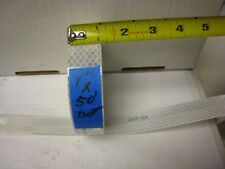 """1"""" x 50'  SILVER  - WHITE  REFLECTIVE CONSPICUITY TAPE DOT-C2"""