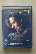 A Beautiful Mind (DVD, 2004)  Preowned (D204)