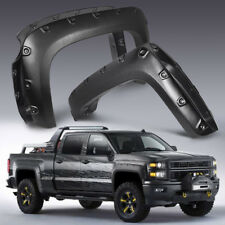 "Fender Flares Pocket Style for 2007-2013 Chevy Silverado 1500 69"" Short Bed"