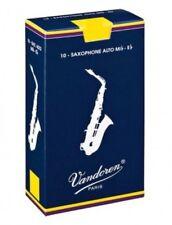 Vandoren Classic Blau Altsaxophonblätter Blätter Alt Saxophon 2,5 zu 10 Stück