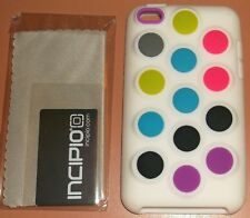 Incipio Dotties Soft silicone case iPod touch 4G with PET film screen protector