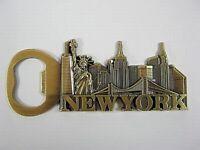 New York Metall Flaschenöffner Magnet,Freiheitsstatue,Empire chrysler ..
