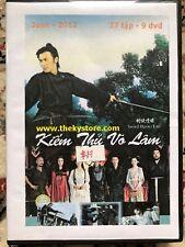 KIEM THU VO LAM -  PHIM BO TRUNG QUOC - 9 DVD
