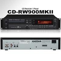TASCAM CD-RW900MKII Professional Rackmount Recorder / Player $15 Instant Off DJ