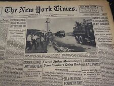 1953 AUGUST 16 NEW YORK TIMES - 319 NORTH KOREANS INJURED IN RIOTING - NT 4706