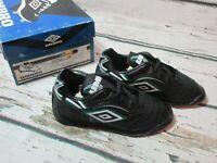 NEW VINTAGE Umbro PREMIO Indoor Soccer Turf Shoes Cleats Toddler Boys Sz 11