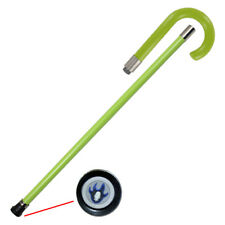 Pimp Lighting On the Prowl Lime Green Walking Cane Staff