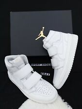 ef4f71488a34 10 MEN S Nike Air Jordan 1 Retro High Double Strap CD9535 990 White SNEAKERS
