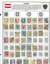 AUSTRIA LOT / COLLECTION OF 360 STAMPS