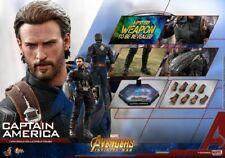 Hot Toys MMS480 1/6 Figure Model Marvel Avenger Infinity War Captain America Toy