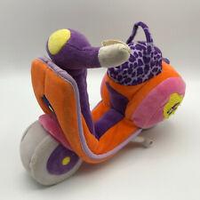 "Groovy Girls Manhattan Toy Company Orange Doll Scooter 10"" Plush Soft Toy 2001"