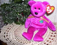 Ty Beanie Baby Bear Millenium