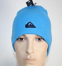QUIKSILVER BONNET TRICOT Azul Bleu Turquoise NEUF