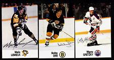 1988/89 ESSO NHL All-Stars Set Of 48 Cards Orr/Gretzky/Howe/Lemieux/Lafleur