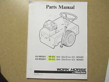 Wheel Horse RR532 RR832 RR 532 832 lawn tractor parts manual