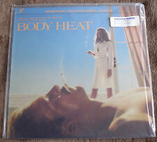 BODY HEAT (John Barry) very rare orig. ltd.ed. factory sealed stereo lp (1983)