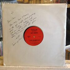 """[SOUL]~EXC 12""""~GARY JOHNSON~WALT TUCKER~Love Volcano~Because Of You~[SIGNED by W"""
