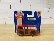 Bertie - Thomas & Friends Wooden Railway Trains RARE Brand New