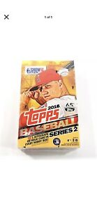 2016 Topps Baseball Series 2 Hobby Box - New Sealed - Autograph/Jersey 36 pack