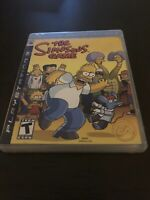The Simpsons Game (Sony PlayStation 3, 2007) Complete - Fast Free Shipping