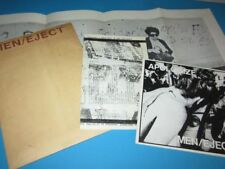 "Men/Eject - Apologize / Draw (US 1980) - 7"" + Poster etc."