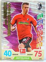 Match Attax 2017/18 Bundesliga - #341 Janik Haberer - Matchwinner