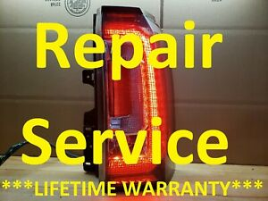 REPAIR SERVICE 2015-18 GMC Yukon Tail Light Lamp FAST 24hr Turn Around Denali XL