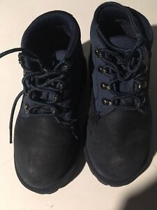 blue TIMBERLAND boots toddler boy girl sz 9