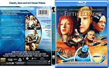 The Fifth Element ~ New Blu-ray ~ Bruce Willis, Milla Jovovich (1997)