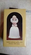 """Precious Moments """"Surrounded With Joy"""" Christmas Bell 1983 Issue"""