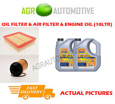DIESEL OIL AIR FILTER + LL 5W30 OIL FOR RENAULT VEL SATIS 2.0 150 BHP 2006-09