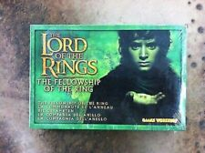 The Lord of the Rings Fellowship of the Ring Box- New and Sealed LOTR Pewter