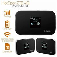 ZTE MF64 - Unlock, 21mbps 4G Mobile WiFi Hotspot (USA, Caribbean and Latin Bands