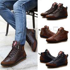 Zapatillas Zapatos Hombre Cordones Casual Informal Tobillo Deporte Bota Botines