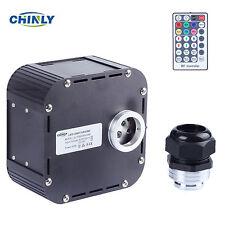 CHINLY DMX 512 RGBW 50W Twinkle Wheel LED Fiber Optic Light Engine with DMX Plug