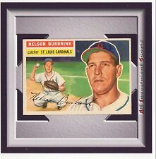 1956 Topps Gray Back NELSON BURBRINK #27 EXMT *amazing card for your set* M99C