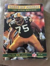 1995 Green Bay Packers NFL Football Media Guide Brett Favre Reggie White