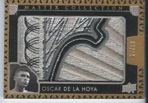 2016 UD All Time Greats Master Collection OSCAR DE LA HOYA Logo Patch 28/50