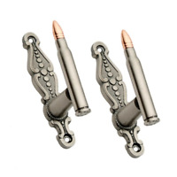 Rifle Bullet Sword Hanger .30-06 Cartridge Wall Mount Display Gun Rack Set