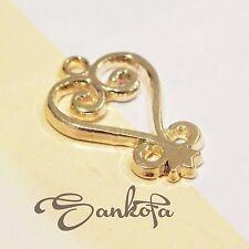 Set of 10 -Sankofa- Adinkra Gold Charms