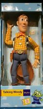 """Disney Parks Exclusive Talking Woody Toy Story Pull String 16"""" Figure Doll"""