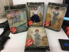 Lot Of 4 1997 Mattel I Love Lucy Doll (Lucille Ball) Does TV Commercial & More