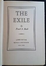 The Exile. Pearl Buck.1936. Very Good, No Reserve.