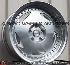 18x10 Varrstoen MK6 5x120 +25 Machined Wheels (Set of 4)