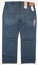 Men's Levi's Denim 559 Relaxed Straight Leg Fit Jeans Size 40x32